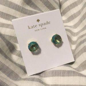 Kate Spade aqua earrings